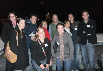 2011 Class on top of the AMNH