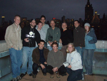 2009 Class on top of the AMNH