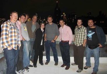 """2013 Class on top of the AMNH"""
